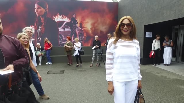 Valerie Morris attends the Minx by Eva Lutz show during the MercedesBenz Fashion Week Berlin Spring/Summer 2017 at Erika Hess Eisstadion on June 29...