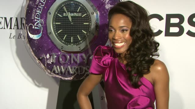Valisia LeKae at The 67th Annual Tony Awards Arrivals at Radio City Music Hall on June 09 2013 in New York New York