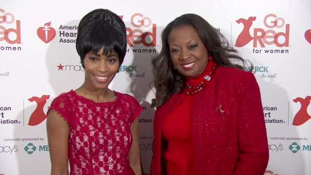Valisia LeKae Star Jones at the American Heart Association Go Red For Women 10th Year Celebration on in New York NY