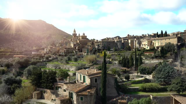 valldemosa mallorca - balearic islands stock videos and b-roll footage