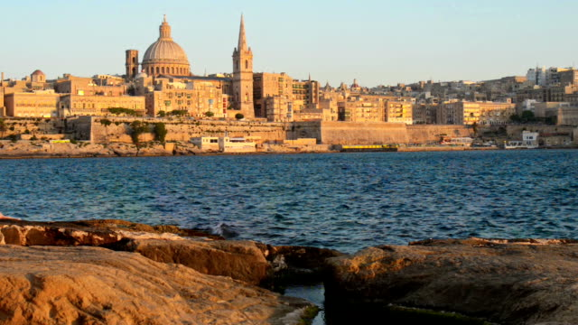 valleta malta - valletta stock videos & royalty-free footage