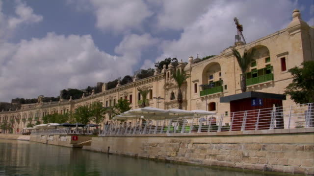 valletta waterfront - valletta stock videos & royalty-free footage