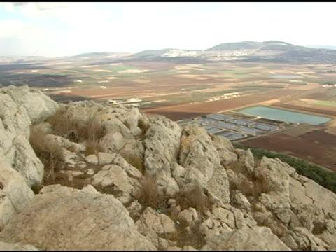 バレーオブ armageddon でイズラエル - 聖地パレスチナ点の映像素材/bロール