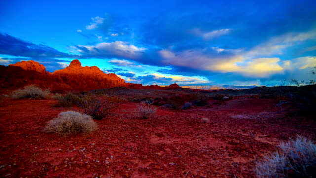 valley of fire state park, nv - red rocks stock videos and b-roll footage