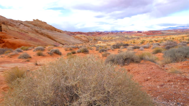 valley of fire state park, nv - red rocks stock videos & royalty-free footage