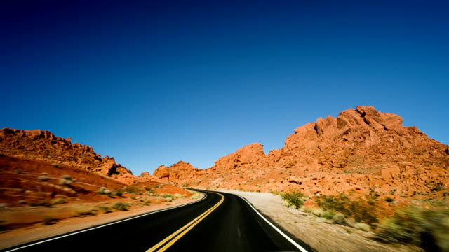 valley of fire - red rocks stock videos and b-roll footage