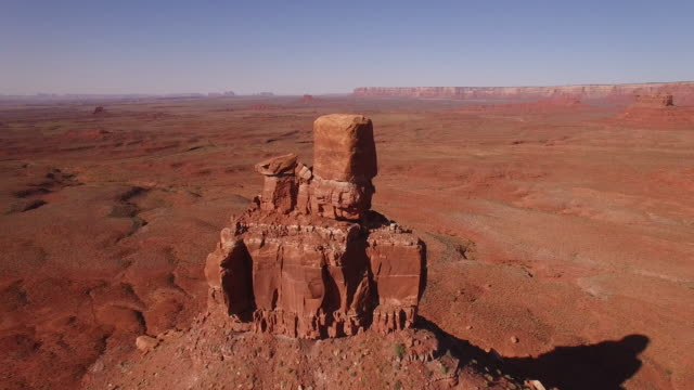 Valley of the Gods Pull back Pan UP EPIC, Utah, Aerial, 4K, 33s, 34of32, Stock Video Sale - Drone Discoveries - Drone Aerial View