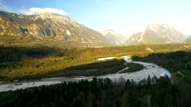 AERIAL Valley Of The Soca River