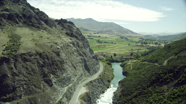 valley - new zealand stock videos & royalty-free footage