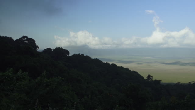 valley wide pan, tanzania - wiese stock videos & royalty-free footage