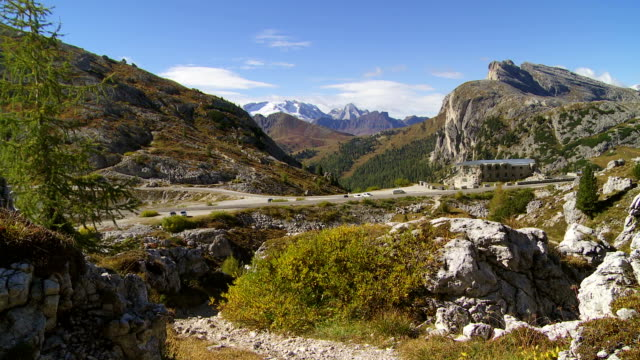 Valparola Pass in den Dolomiten Mountains PAN TL
