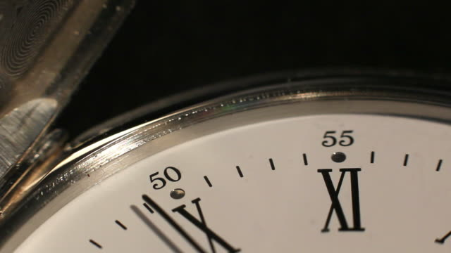 valuable silver watch - roman numeral stock videos & royalty-free footage
