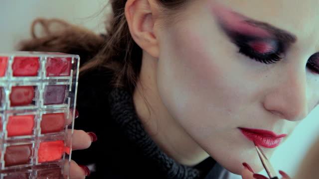 Vampir Schauspielerin make-up