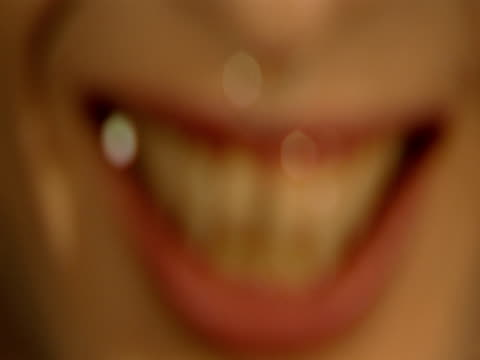 a vampire with a nose ring reveals his fangs. - vampire stock videos and b-roll footage
