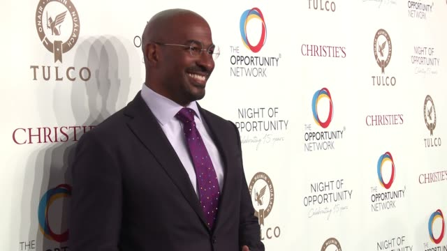 Van Jones at Daniel Craig and Rachel Weisz CoChair The Opportunity Network's 11th Annual Night of Opportunity Gala at Cipriani Wall Street on April...