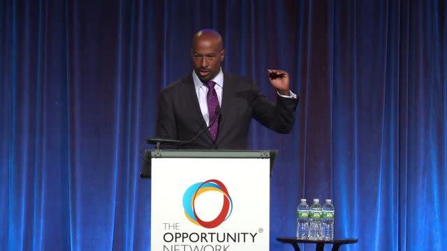 SPEECH Van Jones at Daniel Craig and Rachel Weisz CoChair The Opportunity Network's 11th Annual Night of Opportunity Gala at Cipriani Wall Street on...