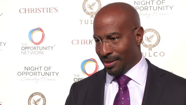 INTERVIEW Van Jones on working with this organization what is most rewarding about working with them and how this connects to all of his non profit...