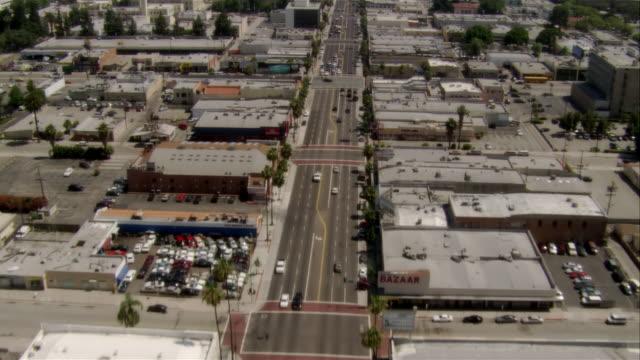 AERIAL Van Nuys, California, USA