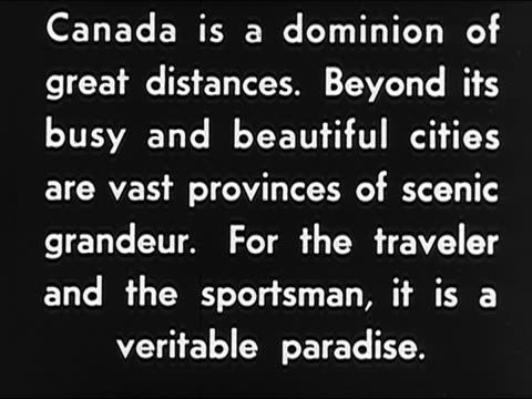 vídeos de stock e filmes b-roll de 1942 -vancouver and western canada - escrita ocidental