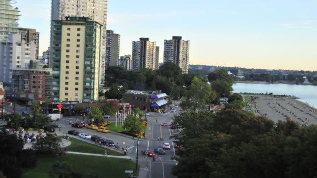 Vancouver, British Columbia, Canada is a coastal seaport city on the mainland of British Columbia, Canada.