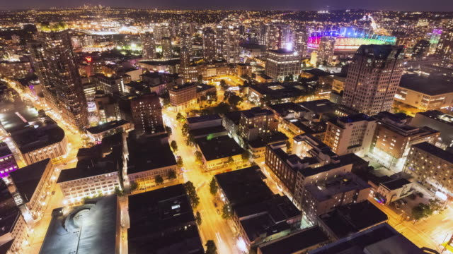 Vancouver in Motion: Birdview of Downtown
