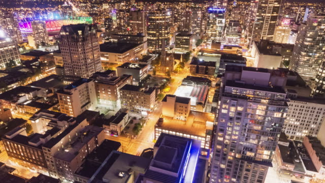 Vancouver in Motion: Downtown Night