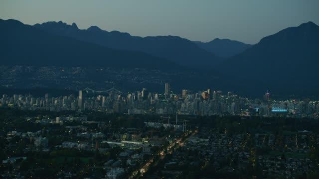 vancouver skyline - カナダ バンクーバー点の映像素材/bロール