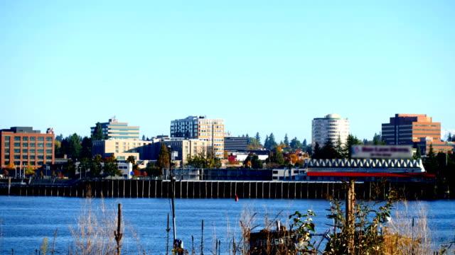 バンクーバー、ワシントン州 - ワシントン州点の映像素材/bロール