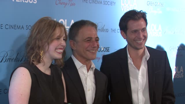 vanessa bayer tony danza and peter cincotti at lola versus new york special screening at sva theater on june 05 2012 in new york new york - tony danza stock videos and b-roll footage