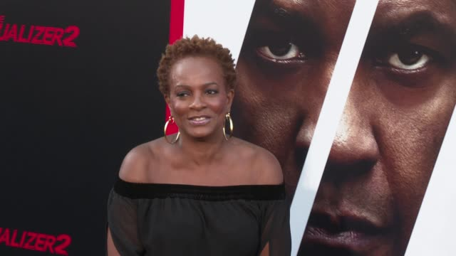 Vanessa Bell Calloway at the 'The Equalizer 2' Premiere at TCL Chinese Theatre on July 17 2018 in Hollywood California