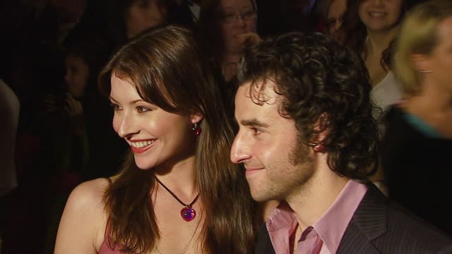 Vanessa Britting and David Krumholtz at the 8th Annual Family Television Awards at the Beverly Hilton in Beverly Hills California on November 29 2006