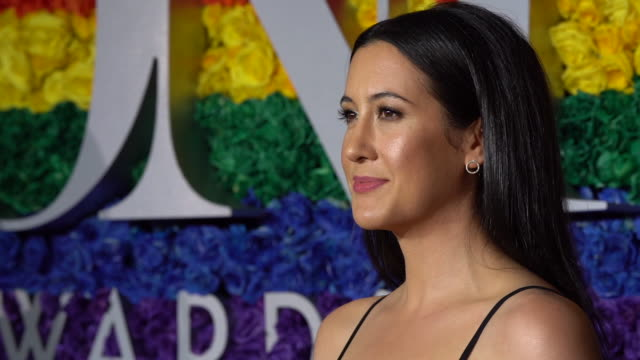 vanessa carlton at the 73rd annual tony awards arrivals at radio city music hall on june 09 2019 in new york city - annual tony awards stock videos & royalty-free footage