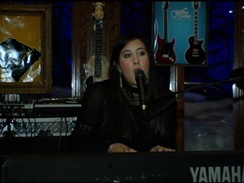 vanessa carlton at the levi ranch at the sundance film festival at levi ranch in park city, utah on january 23, 2005. - park city stock videos & royalty-free footage