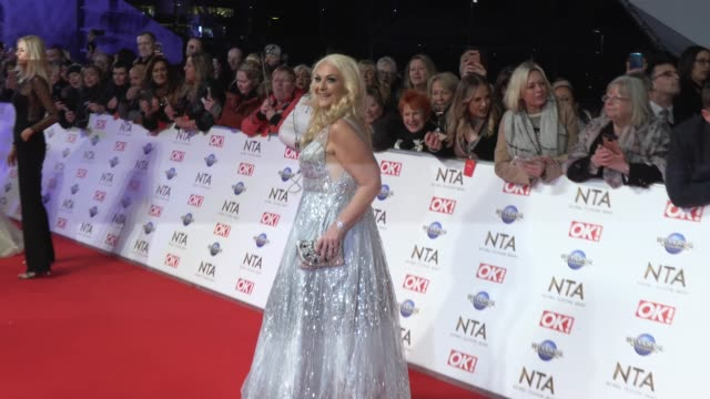 stockvideo's en b-roll-footage met vanessa feltz at the o2 arena on january 28, 2020 in london, england. - vanessa feltz