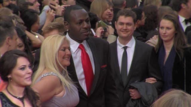 vanessa feltz at the olivier awards at london england. - vanessa feltz stock videos & royalty-free footage