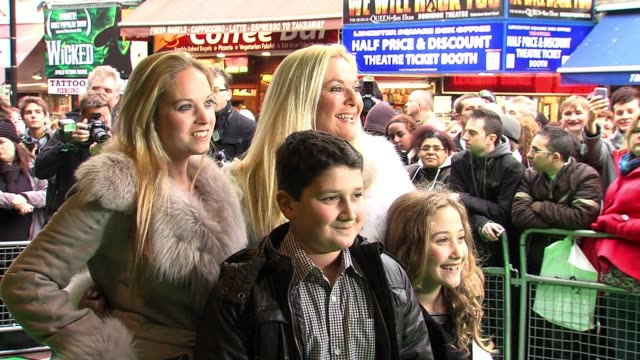 vanessa feltz at the yogi bear 3d gala screening. vanessa feltz at vue leicester square on february 06, 2011 in london, england - vanessa feltz stock videos & royalty-free footage