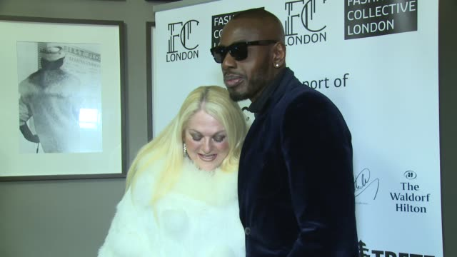 vanessa feltz, ben ofoedu at the waldorf hilton hotel on february 17, 2018 in london, england. - vanessa feltz stock videos & royalty-free footage