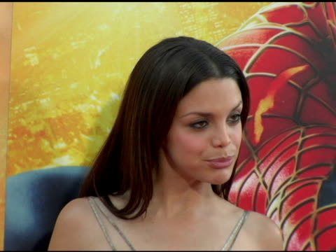 vanessa ferlito at the 'spider-man 2' los angeles premiere arrivals at the mann village theatre in westwood, california on june 22, 2004. - house spider stock videos & royalty-free footage