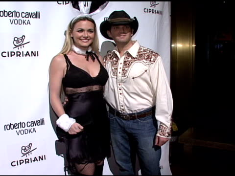 vanessa haydon trump and donald trump jr at the roberto cavalli vodka and giuseppe cipriani celebrate halloween at cipriani 42nd street in new york... - vanessa haydon stock-videos und b-roll-filmmaterial