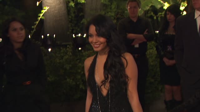 Vanessa Hudgens at the 2010 Vanity Fair Oscar Party Hosted By Graydon Carter at West Hollywood CA