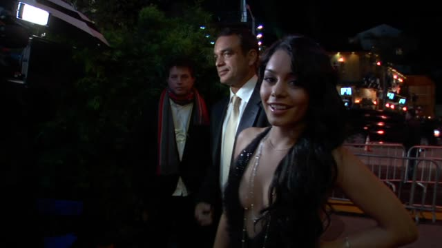 vanessa hudgens at the 2010 vanity fair oscar party hosted by graydon carter at west hollywood ca. - vanity fair oscar party stock videos & royalty-free footage