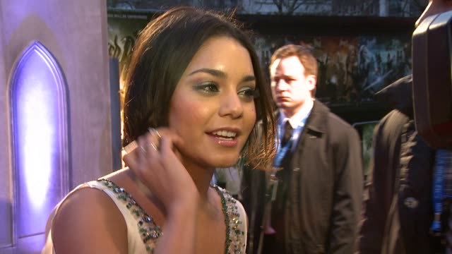 Vanessa Hudgens at the Sucker Punch UK Premiere at London England