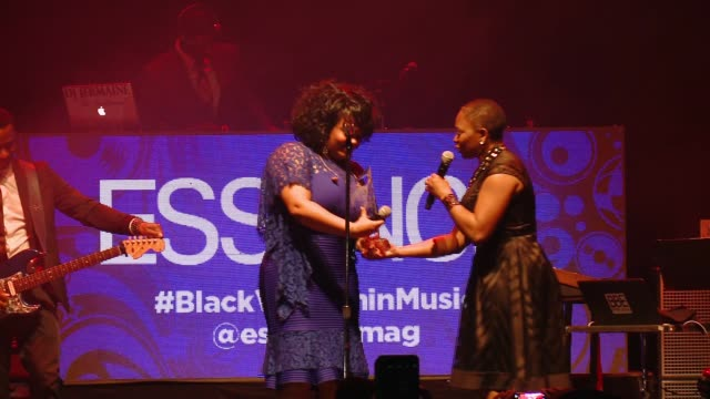 vanessa k. de luca, jill scott at 6th annual essence black women in music event honoring singer/songwriter/storyteller jill scott in los angeles, ca... - storyteller stock videos & royalty-free footage