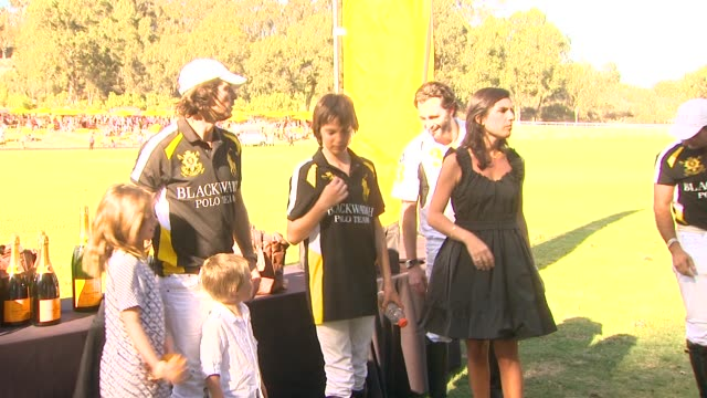 vanessa kay at fourth annual veuve clicquot polo classic los angeles benefiting will rogers state historic park on 10/5/2013 in pacific palisades, ca. - fourth occurrence stock videos & royalty-free footage