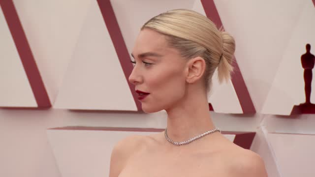stockvideo's en b-roll-footage met vanessa kirby at the 93rd annual academy awards - arrivals on april 25, 2021. - academy awards