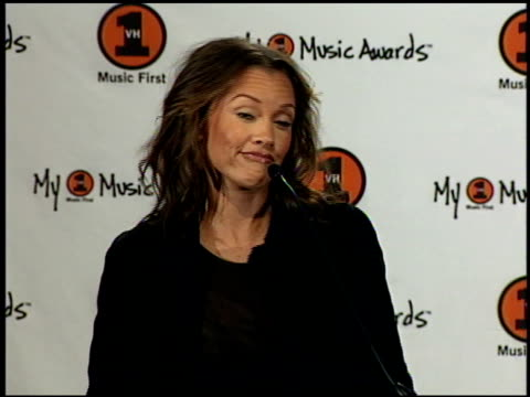 Vanessa L Williams at the My VH1 Music Awards press room at the Shrine Auditorium in Los Angeles California on November 30 2000