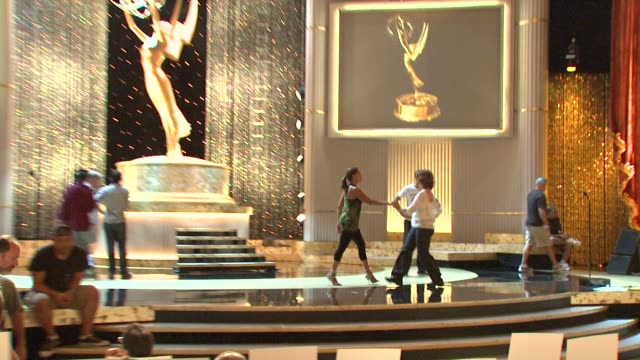 Vanessa L Williams Gilles Marini at the 36th Annual Daytime Entertainment Emmy Awards Rehearsal at Los Angeles CA