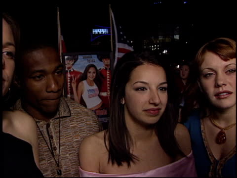 vanessa lengies at the 'what a girl wants' premiere at the cinerama dome at arclight cinemas in hollywood california on march 27 2003 - arclight cinemas hollywood stock videos and b-roll footage