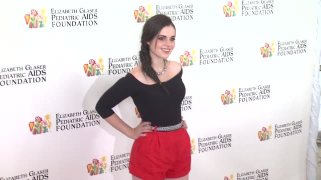 vanessa marano at elizabeth glaser pediatric aids foundation's 24th annual a time for heroes event on 6/2/13 in los angeles ca - vanessa marano stock videos and b-roll footage