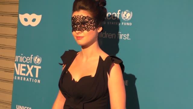 vanessa marano at the 4th annual unicef masquerade ball on october 27 2016 in los angeles california - vanessa marano stock videos and b-roll footage